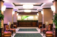 Hotel Lobby and Reception Desk