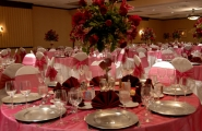 The banquet table details should never be overlooked!